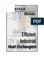 Efficient Industrial Heat Exchangers