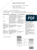 Logical Framework Guide (Module 5 Handout)