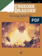 D&D - Set4 M5 - Gli Artigli Della Notte