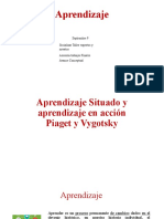 Aprendizaje situado aprendizaje en accion Piaget y Vygotsky