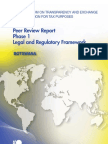 Peer Review Report Phase 1 Legal and Regulatory Framework - Botswana
