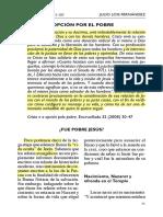 J. Lois Fernández, Cristo y la opción por los pobres