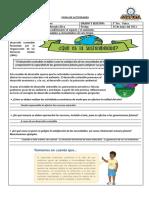 FICHA DE ACTIVIDADES CC SS 3° S13