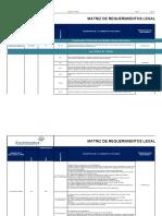 F-01-Hse Matriz de Identificación de Requerimientos Legales
