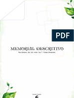 Memorial Descritivo com capa