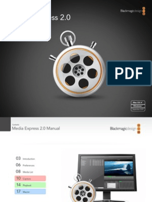 Media Express Manual Video Multimedia