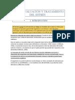 Tema 2. Evaluación y Tratamiento Del Estrés