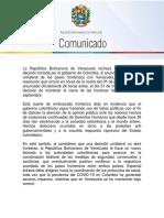 Venezuela-rechaza-decisión-unilateral-de-Colombia-de-reabrir-paso-fronterizo