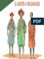 Tres Mulheres Cangaceiras Contra-bolsonaro ESTAMPA