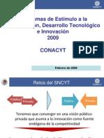 Programas-de-Estimulo-para-la-Innovacion-2009