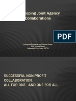Joint Collaboration of Nonprofit Agencies