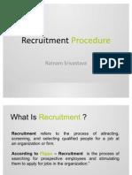 Recruitment Procedure - E