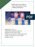 Universidad Tecnica de Ambato Hematologia