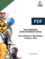 Solucionario Guía Práctica IV Movimiento Energía y Calor