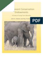 Permanent Conservation Endowments