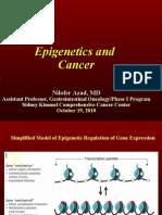 Epigenetics (Nilofer Saba Azad, M.D.)
