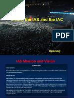 Media, the IAS and the IAC (Mats Ahnlund)