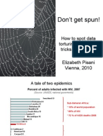 How to spot data torturing, and other tricks of the trade (Elizabeth Pisani)