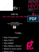 iPrEx:PrEP for Men who have Sex with Men (Linda-Gail Bekker MBChB, DTMH, DCH, FCP(SA), PhD.)