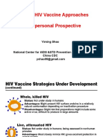 Novel Vaccine Approaches (Yiming Shao)