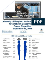 Cancer Disparities (Kevin Joseph Cullen, M.D.)