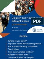 Orphans and Children with AIDS (Dr. Sharlene Swartz)