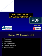 Antiretroviral Therapy (Pedro Cahn)