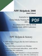 The NPFhelpdesk