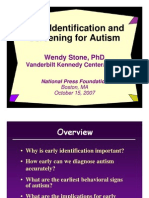 Identifying Autism (Wendy Stone, Ph.D.)