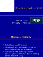 Medicare for Masses of Baby Boomers (Judith Lave, Ph.D.)