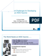 AIDS Vaccines (Simon Noble)