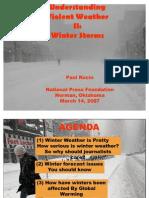 A Veteran Journalist Looks at Winter Weather (Paul Kocin)