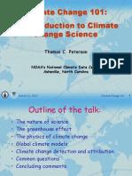 Global Warming (Thomas C. Peterson, Ph.D.)