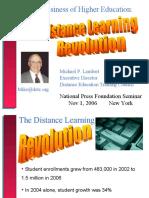 Distance Learning (Michael Lambert)