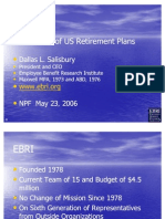 Overview of Retirement in the Private Sector (Dallas Salisbury)