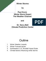 Winter Weather (Paul Kocin)