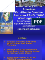 Road Safety in the Americas (Alberto Concha-Eastman, M. D.)