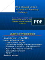 HIV/AIDS in Thailand (Sombat Thanprasertsuk, M.D., M.P.H.)