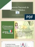 La Comisión Nacional de Arbitraje Médico