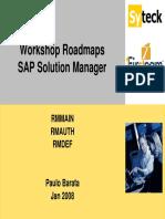 5.1-Workshop Roadmaps Solman - Syteck - First Team 2008 01