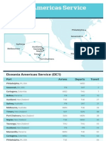 Oceania Americas Service (OC1)