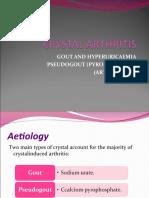 CRYSTAL ARTHRITIS-F