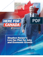 Conservative Party of Canada 2011 Election Platform