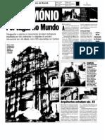 UC discute património de Portugal no Mundo / Correio da Manhã