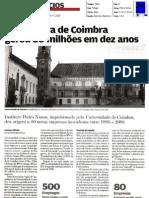 Incubadora de Coimbra gerou 30 milhões em dez anos / Jornal de Negócios