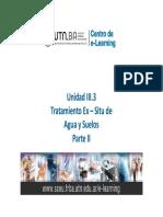 UNIDAD III-3 Tratamiento de Agua y Suelos Ex Situ - Parte II