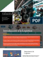 Unidad 1. Introducción a la Logística Empresarial Automotiva