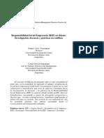 SESIÓN 3_ LECTURA 2_Responsabilidad Social Empresaria (RSE) en Debate Investigación, Docencia y Prácticas en Conflicto