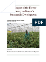 Flower Farms and Kenya's Sustainable Development - Bruno Leipold, Francesca Morgante