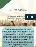 Antropologia - criação do homem e da mulher